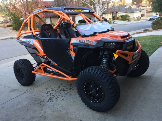 Polaris RZR Turbo Build with Houser Racing Roll Cage, Sport Front Bumper, Tree Bars, and Half Windshield