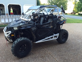 Polaris RZR XP 1000 Build with Houser Racing Roll Cage, Sport Front Bumper, and R2 Tree Bars