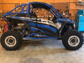 Polaris RZR Turbo Build with Houser Racing Roll Cage and R2 Tree Bars