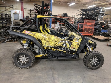 Yamaha YXZ1000R Build With Houser Racing Roll Cage, Tree Bars, Sport Front Bumper, and Tie Ins