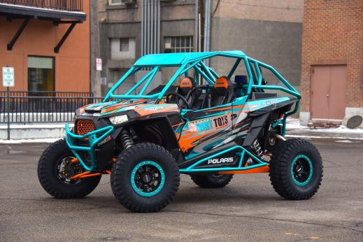 Dirt Toys Magazine Polaris RZR Build with Houser Racing Roll Cage, Sport Front Bumper, and Tree Bars