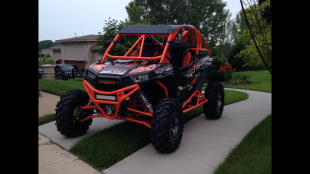 Polaris RZR XP 1000 Build with Houser Racing Roll Cage, Sport Front Bumper, and Tree Bars