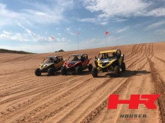 Yamaha YXZ1000R's with Houser Racing Roll Cages