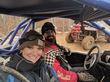 Jeff and Erin Houser out for a ride